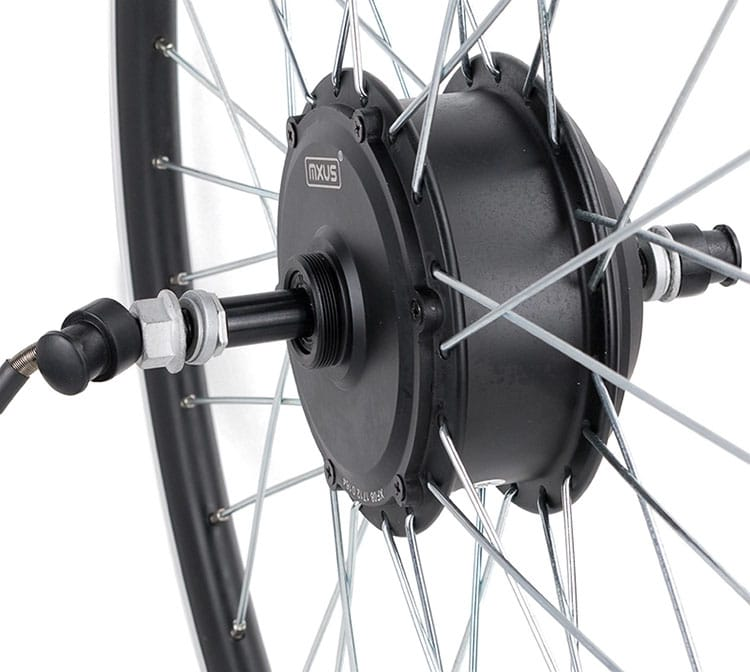 MXUS XF08 24V 36V 48V 250W Brushless Gear Hub Motor E-bike Motor For Electric Bicycle
