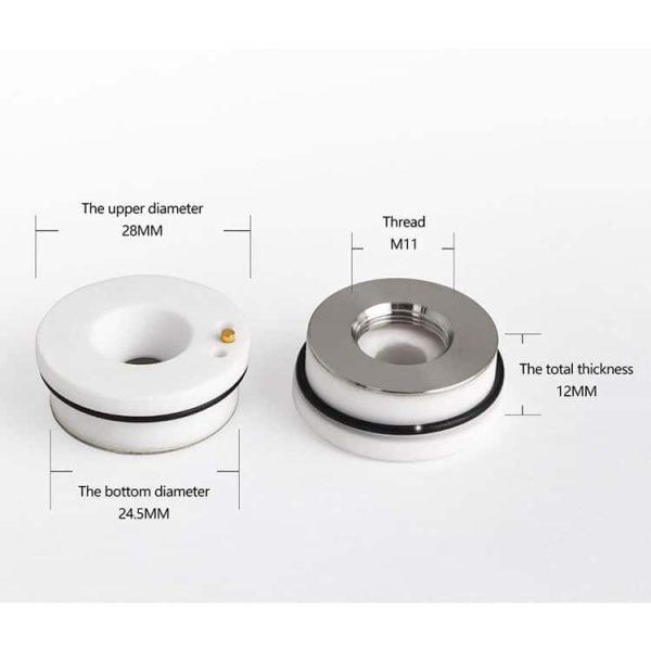 Ceramic Parts Dia. 32mm/28.5mm for RayTools Fiber Laser Head
