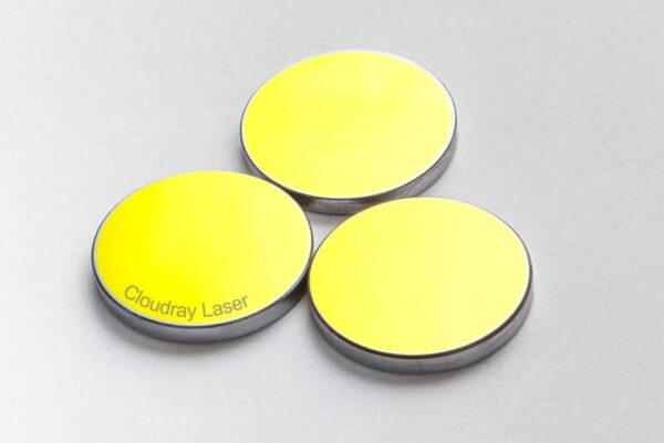 Si Mirror Dia. 19 20 25 30 38.1 mm Gold-Plated Silicon for CO2 Laser