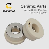 Cloudray Laser Ceramic 28mm/24.5mm OEM Precitec Lasermech KT B2 CON P0571-260-00001 Nozzle Holder For Fiber Laser Cutting Head