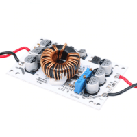 DC-DC Boost Converter 600W Adjustable 10A Step Up Constant Current Power Supply Module Led Driver For Arduino. Aluminum Plate