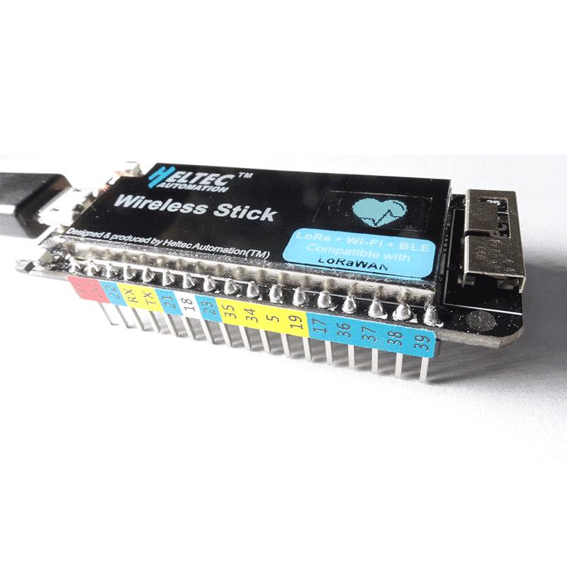 Heltec IOT Lora Wireless stick upgrade esp32 lora/wifi lora Development Board with 0.49inch oled display 433HMZ/868MHZ/915MHZ