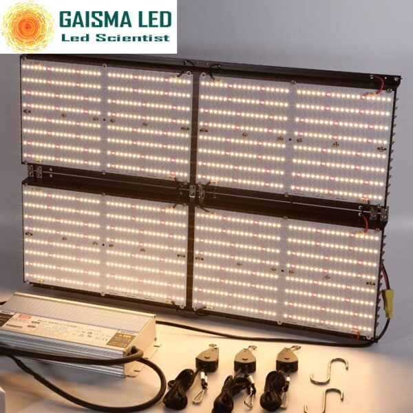 Gaisma Board 480W Full Spectrum Grow Light with Samsung LM 301B & CREEXPE red 660nm far Red & LG UV