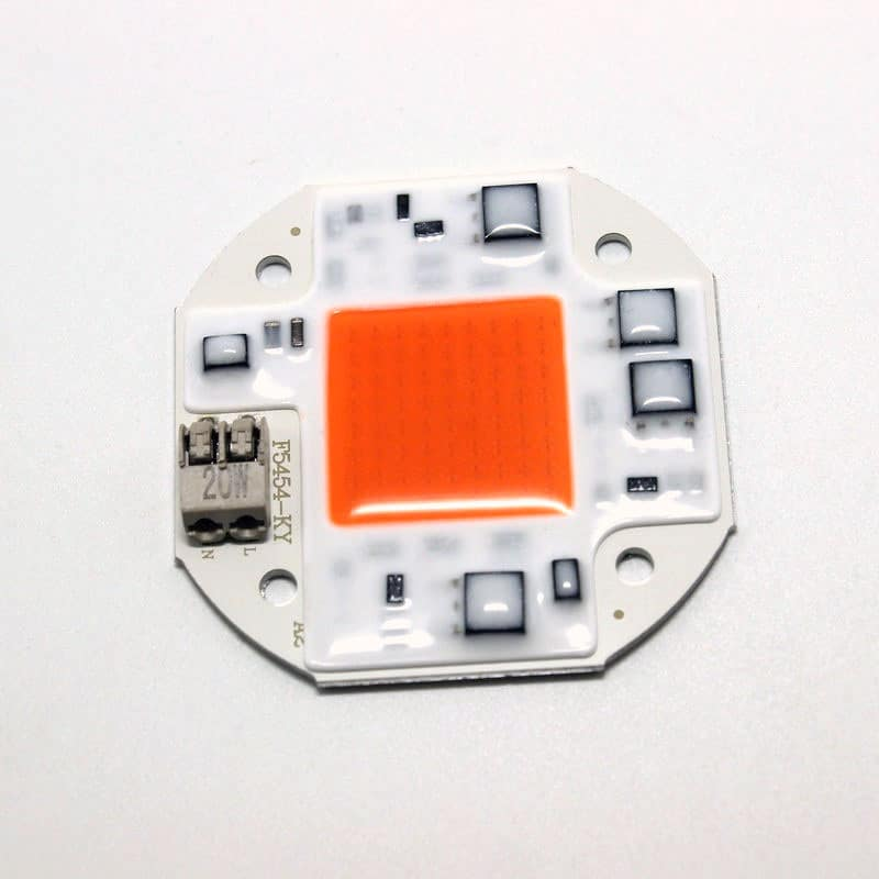 20W 30W 50W Integrated Smart IC Driverless Solderless DIY 100-260V LED COB Chip