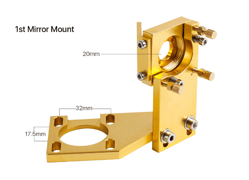 Cloudray K Series Mirror support (GOLD) 12/18/20-50.8