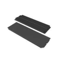 Heat sink for led plant grow light panel. 600mm*185mm*25mm