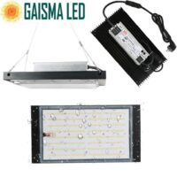 GWPLED-288 Gaisma Board Waterproof Led Plant Grow Light 120W Samsung LM301B+660NM Hydroponic Growing Light 3500K