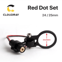 Cloudray Diode Module Red Dot Device Positioning DC 5V for DIY Co2 Laser Engraving Cutting Head 24/25mm
